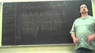 Critical Thinking:  Fallacies 2