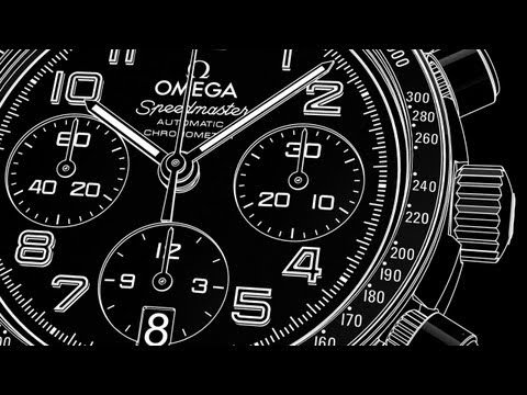 OMEGA Speedmaster Calibre 3304 - Video Manual видео