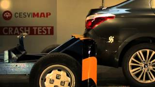 Crash Test trasero Citroën C-Elysée