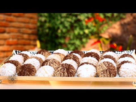 Halawiyat l3id : Biscuits à la pâte d'amandes et pâte de dattes