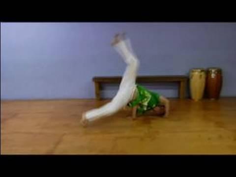 Advanced Capoeira Moves : How To Do A Meia Lua Queda de Rins
