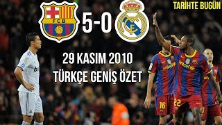 Download Video TARİHTE BUGÜN: Barcelona 5-0 Real Madrid | Türkçe Spiker | Geniş Özet 2010 • HD MP3 3GP MP4