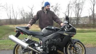 1. 2009 Yamaha R6S