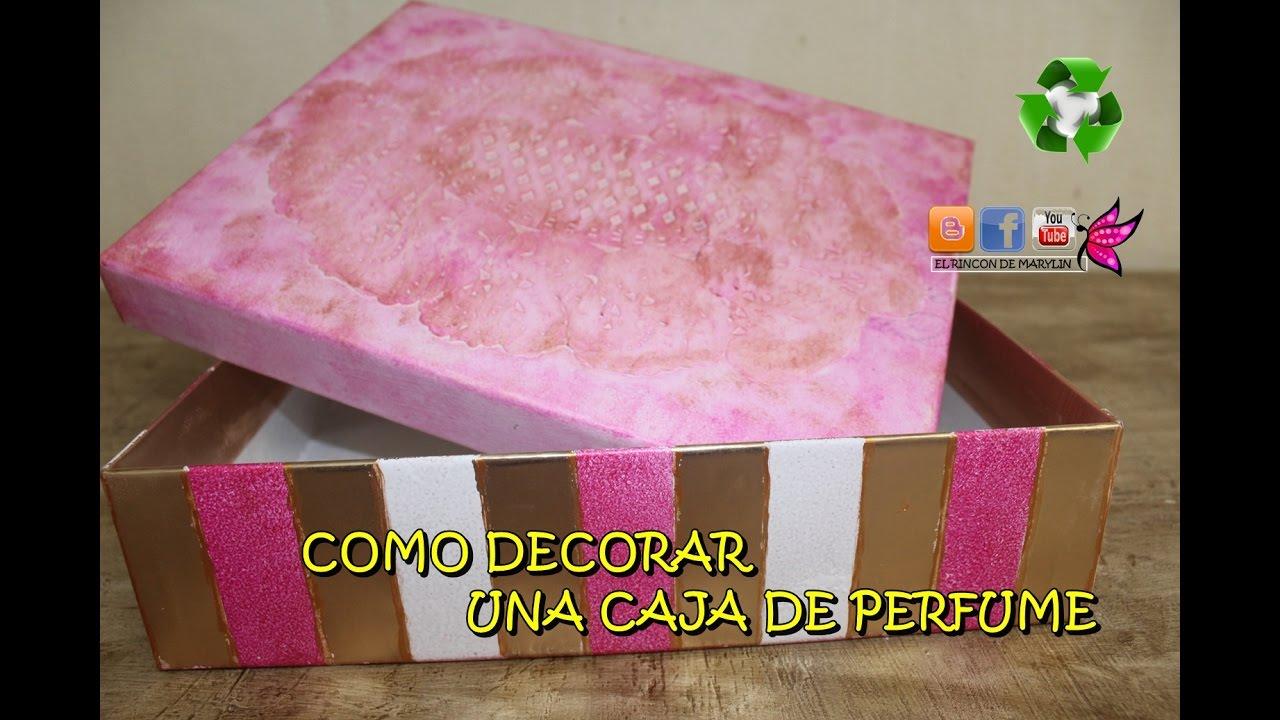 3 ideas creativas para decorar cajas de cart n manualidades for Ideas creativas para decorar