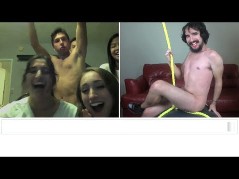 Miley Cyrus Wrecking Ball Chatroulette