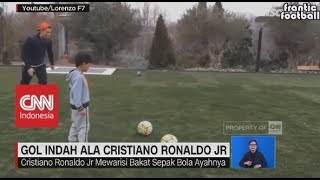 Download Video Like Father Like Son, Ini Gol Indah Ala Christiano Ronaldo Jr MP3 3GP MP4