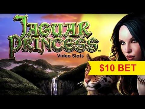 Jaguar Princess Slot - $10 Max Bet Bonus!