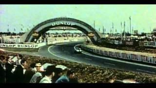 Jaguar History - Last appearance of the D-Type on Le Mans  (1957)