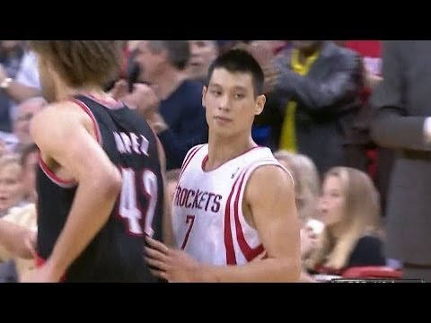 Jeremy Lin fadeaway gives the Rockets the lead for good