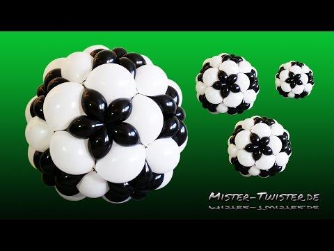 Balloon Football, Soccer Decoration, Ballon Fußball,Fussball  Dekoration