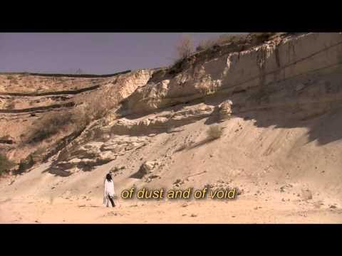 'Je suis une nomade' : Poème calligramme de Nicole Coppey
