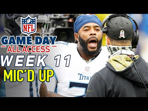 """NFL Week 11 Mic'd Up, """"Go Coach a Game!"""" 