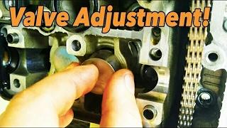 9. SV650: Valve Adjustment!