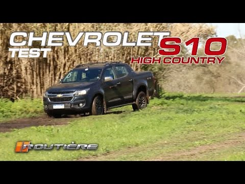 Chevrolet S10 High Country MT Test
