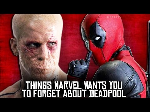 10 Things Marvel Wants You To FORGET About Deadpool! (видео)