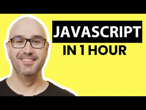 JavaScript Tutorial For Beginners: Learn JavaScript Basics In 1 Hour [2019]
