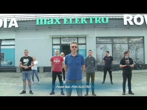 """MAX ELEKTRO """"pompuje"""" w ramach akcji #GaszynChallenge"""