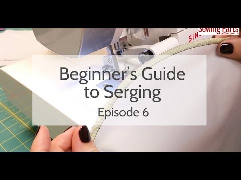 Beginner's Guide to Serging (Ep 6): Corners and Curves