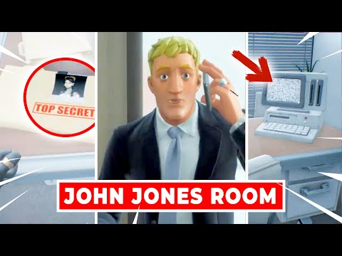 """Every Detail in Agent Jonesy's Room in """"THE DEVICE"""" Live Event"""