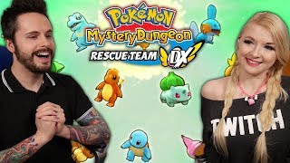 Playing the Pokemon Mystery Dungeon Rescue Team DX Demo with Sophie! by Ace Trainer Liam