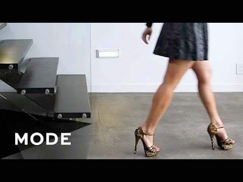 How to Walk in Heels - Step By Step