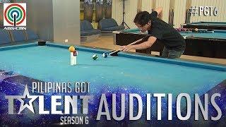 Video Pilipinas Got Talent 2018 Auditions: Jonacris Bandillo - Billiard Tricks MP3, 3GP, MP4, WEBM, AVI, FLV Oktober 2018