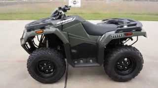 4. $5,799:  2016 Arctic Cat Alterra 400 Green  Overview and Review