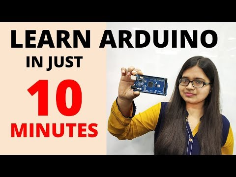 Learn Arduino in 10 minutes | Arduino programming code for beginners by Edutainer
