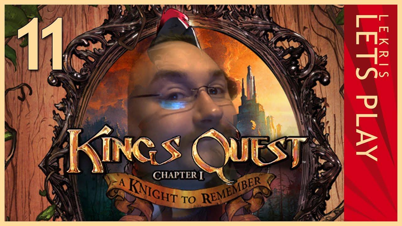 Let's Play King's Quest - Kapitel 1 - Der seinen Ritter stand #11 - Das Geschwindigkeitsduell