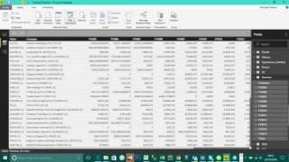 Short and Direct Video series: Unpivot Column in Power BI to prepare you data for analysis/visualization.
