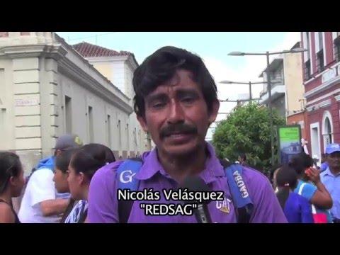 REDSAG-Marcha por el agua 2016
