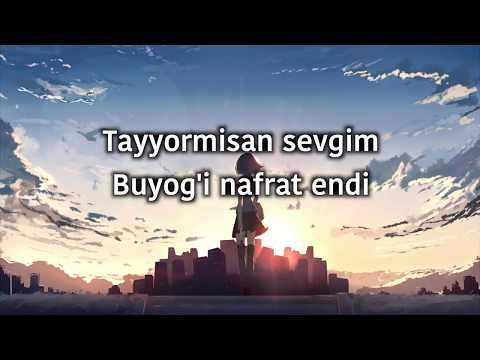 UzBoom - Tayyormisan 3 (Lyrics) (Tekst)