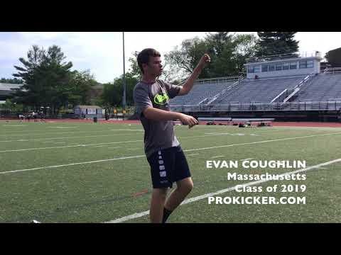 Evan Coughlin - Prokicker.com Kicker, Class of 2019