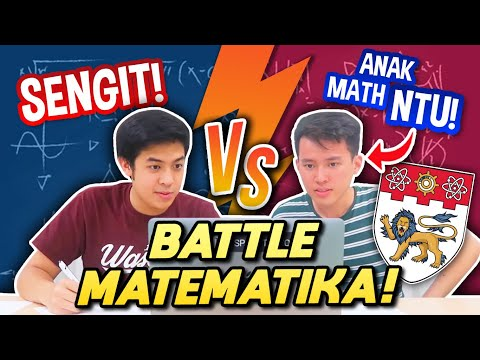 BATTLE MATEMATIKA: JEROME VS MAHASISWA MATH NTU!