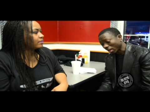 Michael Blackson Block DVD Interview @ Rib Shack