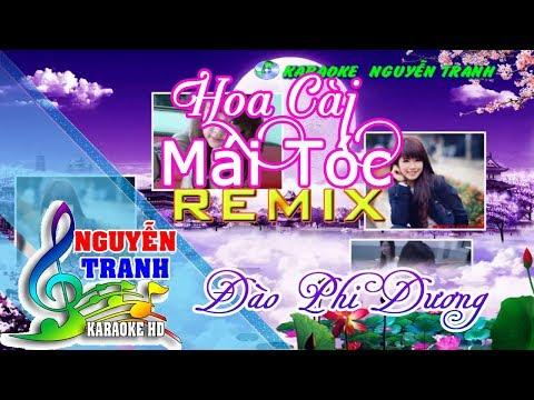 [karaoke] Hoa Cài Mái Tóc Remix (beat Đào Phi Dương) - Thời lượng: 3:45.