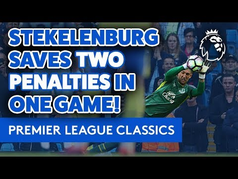 Video: TWO PENALTY SAVES IN ONE GAME! | PREMIER LEAGUE CLASSICS: STEKELENBURG V MAN CITY