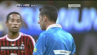 Alessandro Del Piero schießt Schiedsrichter ab