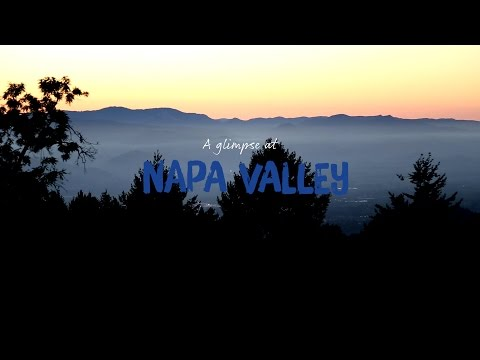 SAS – A glimpse at Napa Valley