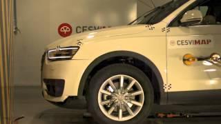 Crash Test delantero Audi Q3