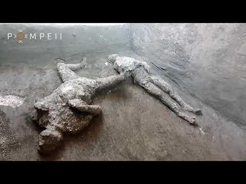 Найдены две жертвы извержения Везувия в Помпях