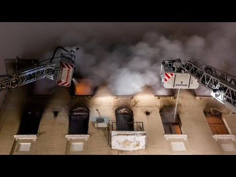 Moskau: Tote bei Brand in denkmalgeschütztem Gebäude