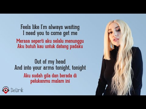 Into Your Arms - Ava Max (Lyrics video dan terjemahan)