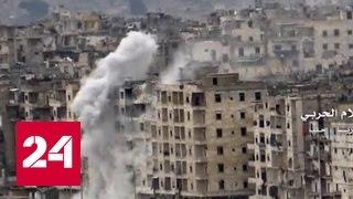 По коридору в 21 километр из Алеппо выведут 5 тысяч боевиков
