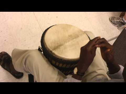 6 12 12 Djembe Class   Bass, Tone, High tone, Slap
