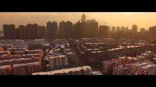 Wuhu China  city photos gallery : Wuhu China 2016 - Aerial Drone Winter Shot