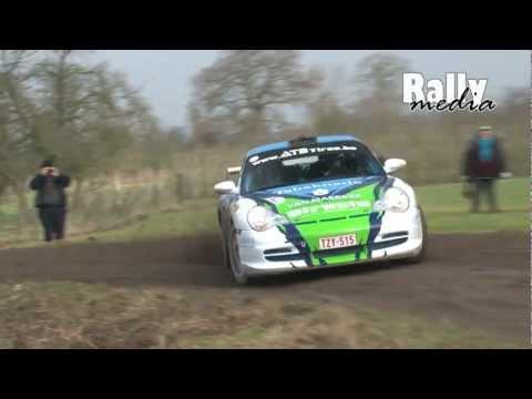 spettacolare rally con una porsche 996 gt3!