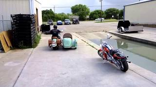 7. 2015 Indian Chief Vintage with Hannigan sidecar