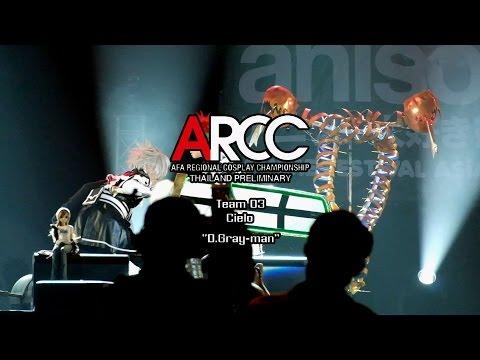 ARCC Thailand Preliminary Cosplay Contest 2015 Team Team 3 Cielo – D.Gray-man