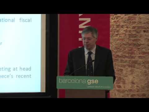 André Sapir (ECARES-ULB) Barcelona GSE Antrittsvorlesung - Eröffnungsfeier 2009-10